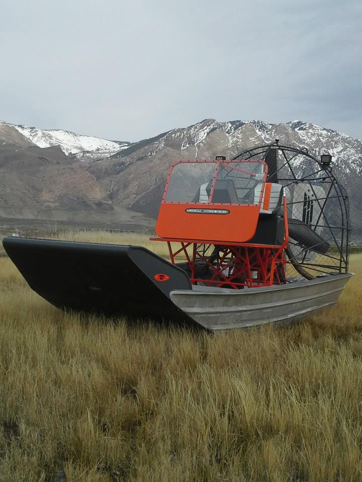 Widowmaker Wetlander airboat rehab